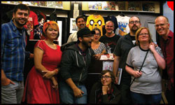 Hub Comics celebrates Tim Finn's first year as store owner