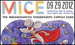 Dan Moynihan poster for MICE Tim Finn panel
